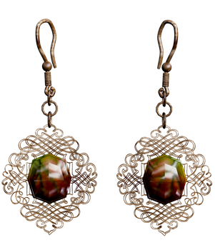 Earrings Stock by Withering-Dreams