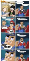GGguys 89 Street Fighters by SupaCrikeyDave