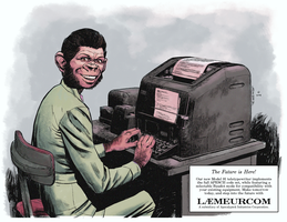 TTY Chimp by Laemeur