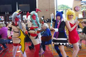 Panty, Stocking, Scanty and Kneesock by EminenceRain