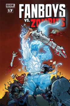Fanboys Vs ZOmbies #17 Cover by theFranchize