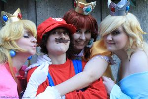 All the Princessess (Sakuracon 2013) by WildTigerCosplay