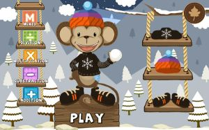 UI elements and illustration - mobile game by romancuta