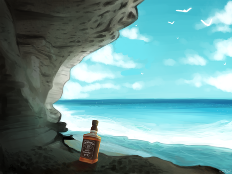 Whiskey On The Sea by ChibiSo