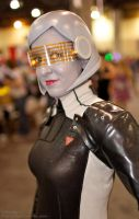 Mass Effect - EDI cosplay closeup by Emmalyn