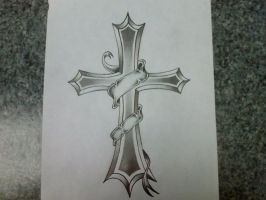 cross by inkedforlife