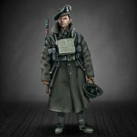 Scottish WW1 soldier by timcatherall