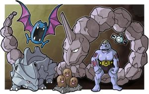 Cave Pokemon by WhyDesignStudios