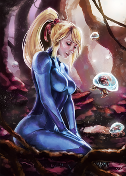 Metroid's 30th Anniversary by G21MM