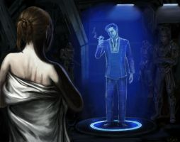 Andromeda - Meeting with the Illusive Man by efleck