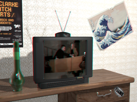 Anaglyph 3D Render by n3uromanc3r