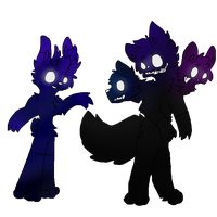 Mythical Shadow Adoptables [CLOSED] by Scurryy