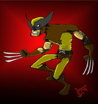 WOLVERINE by comicsarecool