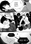 Bloody Painter story Comic-Pag.7 by DeluCat
