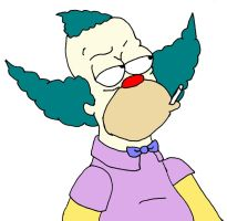 Krusty the Clown by EliPeli08