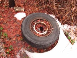 Tire'd of Lying Around by Dozerson