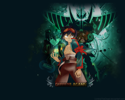Gurren Lagann Wallpaper 1280 x 1024 by UchihaTheDead