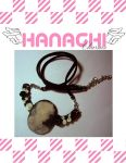 rosed cameo necklace by Hanachi-bj