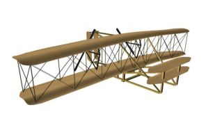 1903 Wright Flyer Front by ChozoBoy