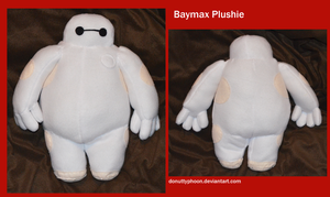 Baymax Plushie by DonutTyphoon