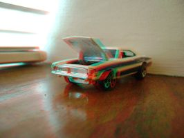 Hot Wheels '69 Charger 3D 001 by LittleBigDave
