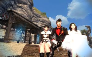 Vindictus Family Day at the Beach by RoninMoose