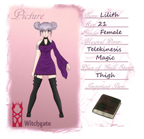 ::MGW Application Lilith:: by KaizokuHime