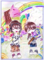 Candy land by Pikte