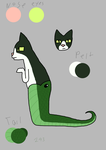 Snaketail Redesign by Rainbow-Salad