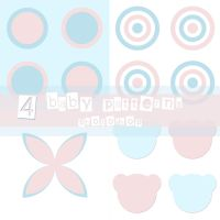 4 Patterns baby by isis-misis