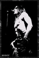 Iggy Pop Painting -- 69.00 by Hodgy-Uk
