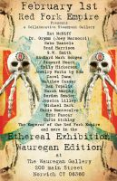 Poster for RFE Gallery show at Wauregan Gallery by xjustinian