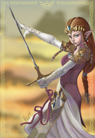 Princess Zelda by KimiCookie
