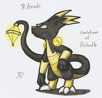 Fakemon: Pilferadi by avatarjk137