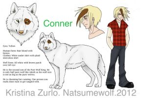 Conner Ref by NatsumeWolf