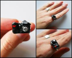 Photo camera ring by GemDeDude