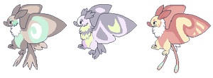 Mothbat Adopts! (CLOSED) by bananamantis