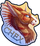 Badge Comish - Chex by TwilightSaint