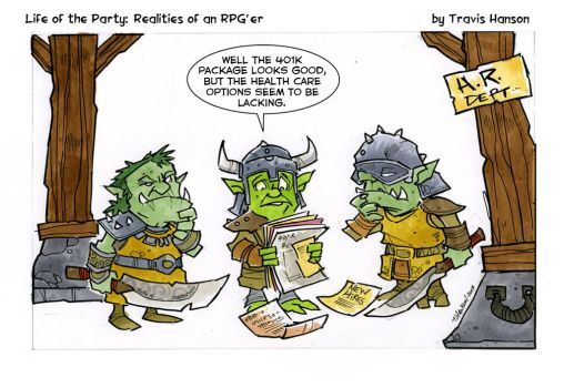 Benefits for goblins by travisJhanson