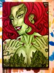 Sketch Card : Poison Ivy by nork