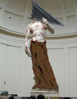 Statue of... PYRAMID HEAD??? by goodben