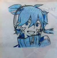 Ene (kagerou project/ mekaku city actors) by Twinsy-Art