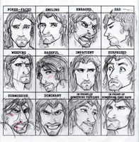 Th'ero Expression Meme by zeralia