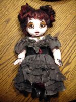 Mrs. Lovett Doll by mer-wench