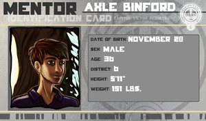 Hunger Games Mentor: Axle Binford by Kintupsi