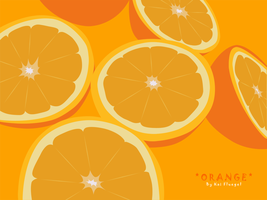 Vector Oranges by TomLeeman
