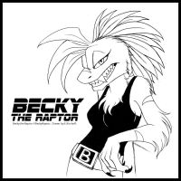 Becky Raptor Commission by Yastach
