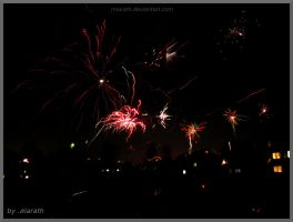 New Year 2015 fireworks collection by Miarath