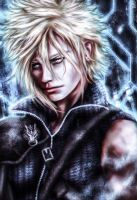 Cloud Strife- Final Fantasy by vanikachan