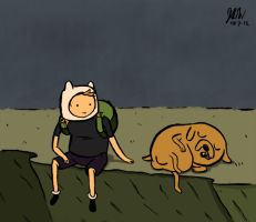 Finn and Jake by JDWRudy25